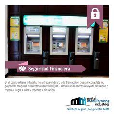 En este jueves el tip de #Seguridad Financiera de hoy nos recuerda por qué debemos tener los teléfonos de nuestro banco siempre a la mano...