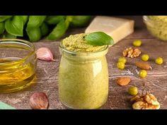 Pesto, Walnut Kernels, Healthy Recipes, Savoury Recipes, Fun Recipes, Dips, Vegetable Recipes, Cucumber, Food To Make