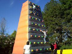 Pared escaladora inflable Info (502) 57970571 saltayjuega@gmail.com