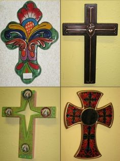 Assorted Wall Crosses