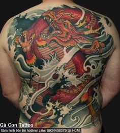 Tattoo Design Book, Japan Tattoo Design, Japanese Tattoo Designs, Dragon Tattoo Art, Dragon Tattoos For Men, Dragon Tattoo Designs, Japanese Forearm Tattoo, Japanese Dragon Tattoos, Full Back Tattoos