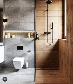 Minimal Interior Design Inspiration - Home - Apartment Bathroom Design Luxury, Bathroom Layout, Modern Bathroom Design, Bathroom Goals, Washroom Design, Bathroom Cabinets, Bathroom Ideas, Modern Small Bathrooms, Dream Bathrooms