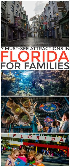 7 Must-See Attractions in Florida for Families. These are must to add destination to your family travel bucket list!