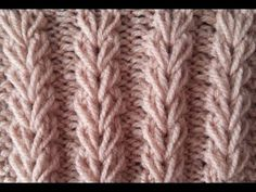 Video tutorial on How To Knit the Alsacian Scallops stitch. This is a exquisite lace stitch and not difficult to knit. ++ For detailed written instructions, . Baby Knitting Patterns, Knitting Stitches, Knitting Videos, Easy Knitting, Knitted Bags, Protective Styles, Weave Hairstyles, Knit Crochet, Braids