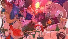 Ultra Street Fighter II esta es la fecha de lanzamiento en Nintendo Switch - Mexgeekeando