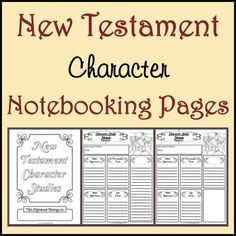 ***Free*** New Testament Character Study Notebooking Pages - Becoming A Godly Wife
