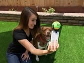 A decidedly oddball Kickstarter project aims to improve dog selfies by attracting your pup's attention to your phone.