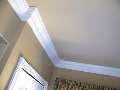 """The wall paint color is Sherwin Williams """"Lenox Tan"""" and the cieling is Sherwin Williams """"Shaker Beige """"."""
