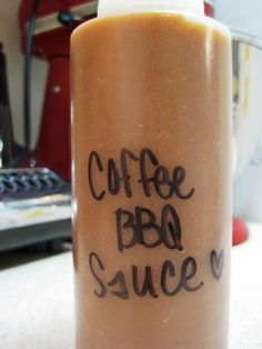 Recipe: Coffee BBQ Sauce