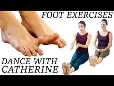 Dance Foot Exercises & Stretches For Strength, Flexibility, Pain Relief, Flat Feet and Ballet Pointe - YouTube