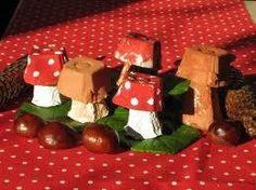 Eierkarton-Pilze - Fall Crafts For Kids Easy Fall Crafts, Fall Crafts For Kids, Diy For Kids, Kids Crafts, Diy And Crafts, Origami Simple, Easy Origami For Kids, Handmade Christmas, Christmas Ornaments