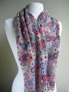 Amazing! Sophie Digard #Crochet Scarves