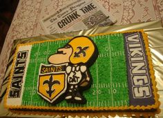 Thanks to Pam Caravella for sending us this picture! #Saints #NOLA #Cake