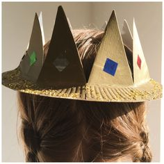 A simple household object like a paper plate can make a get crown! Find out how to make paper crowns for kids, with instructions for princes & princesses.