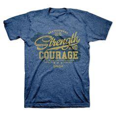 Strength Bear Courage T-Shirt