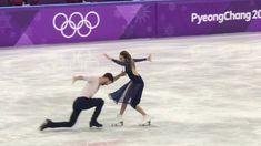 Cizeron and Papadakis 2018 PyeongChang Olympic free dance new world reco...
