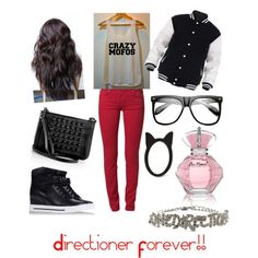 one direction outfit > with niall's crazy mofos shirt ☺☺☺