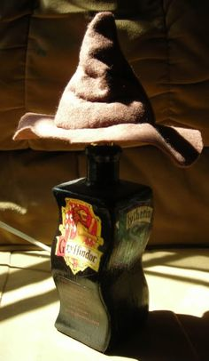 Harry Potter Sorting Lamp. (this is crazy. I need it in my life.