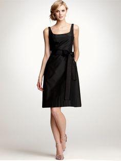 square black dress