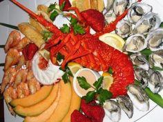 Sea food...