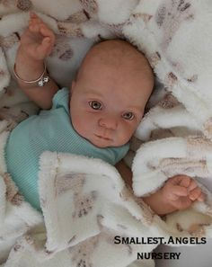 Reborn Baby Girl ~ NEW RELEASE ~ Cutie by Donna Rubert ~ Smallest Angels ~