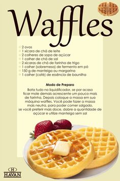 Cooking Time, Cooking Recipes, Waffles, Good Food, Yummy Food, Diy Food, Food Hacks, Sweet Recipes, Food Porn