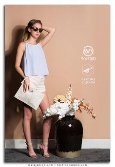 Model: Ilaya Zomerschoe | Styling: Kiki Starrenburg | Photo: Maik Jansen for Fashion Cannon | Boetiek: Wanted Fashion | Sunglasses: Van Tiem Optiek | Outfit label: JoshV