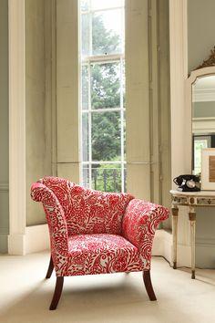 Paisley Scroll Chair