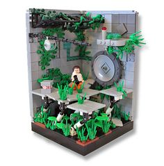Portal 2 Test Chambers in Lego this is the tipe of stuff i build