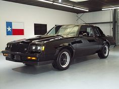 1987 Buick Grand National GNX ~ Fear the 6!!!  This was called Darth Vader's Buick!  Very quick!