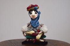 人形 Fatima - interior puppet, original handmade doll|人形|olgamilovich-puppets|ハンドメイド通販・販売のCreema