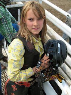 Kallie Kautzman - Bull Rider