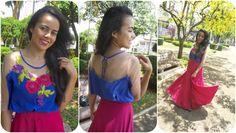 Como costurar blusa com tule Alana Santos Blogger