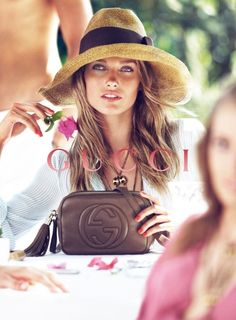 I know it's a Gucci ad, but I love this hat...