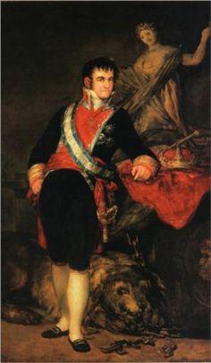 Fernando VII - Francisco de Goya