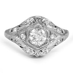 The Romaine Ring, top view
