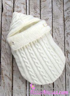 Зимний вязаный конверт кокон на выписку: продажа, цена в Харькове. конверты для новорожденных от