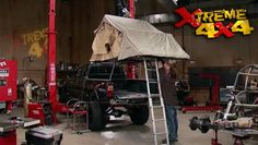 Xtreme 4x4 DVD (2013) Episode 06 - $5.95 Trekking Tacoma Part II / Easter Jeep Safari - They outfit a Toyota for adventure, with solar battery panels, a rooftop tent, serious body protection -all the items that make an expedition vehicle, an expedition vehicle! - Lots of cool ideas & products