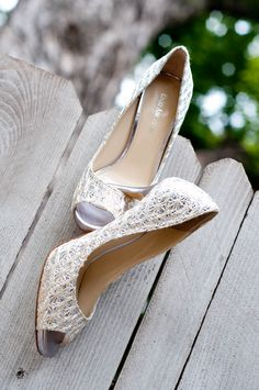 Lacy #wedding shoes
