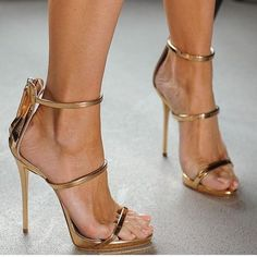 Giuseppe Zanotti Harmony Sandals In Rose Gold. Worn Once, In Perfect Condition. Come With Original Box And Dust Bag. Stilettos, Pumps Heels, Stiletto Heels, High Heels, Sexy Heels, Zapatos Shoes, Giuseppe Zanotti Shoes, Zanotti Heels, Slippers