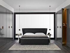 Superb begehbarer Kleiderschrank mit ruhiger Wirkung im Schlafzimmer