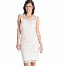 34ae910612c4d Mallory Crochet Cream Dress | New With Tags| Day Dresses, Nice Dresses,  Summer