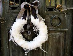 Halloween wreath/decorations