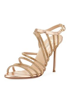 Strappy+Beaded+Open-Toe+Sandal+by+Valentino+at+Neiman+Marcus+Last+Call.