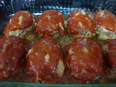 Absolutely Delicious Mini Cheddar Meatloaves! Love them!