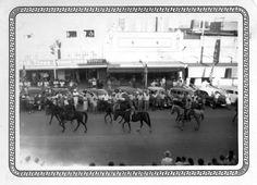 Taylor, Texas - Rodeo Parade Riders 1950