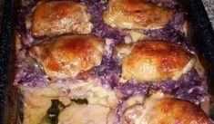 Růžové kuřátko | recept na pečené kuře Chicken Recipes, Meat, Fitness