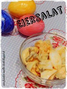 Fräulein Müller kocht : Eiersalat mal etwas leichter