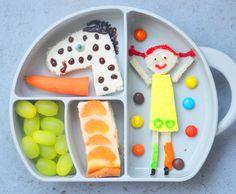 Pipi Langstrumpf Bentobox / Bentobox Ideas / Brotdose mal anderst / Brotbox / Kindervesper / Creativ Food / Kids Food / Kindergarten / www.amotherslove.de
