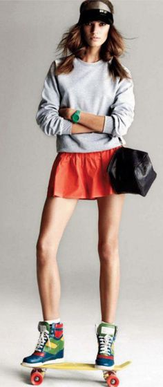 Style   How to wear sporty  